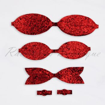 Chunky Red Bow Kit